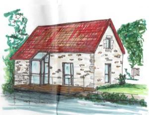 Renovation petite maison d'habitation - Architechniques - architecte Tours (3)