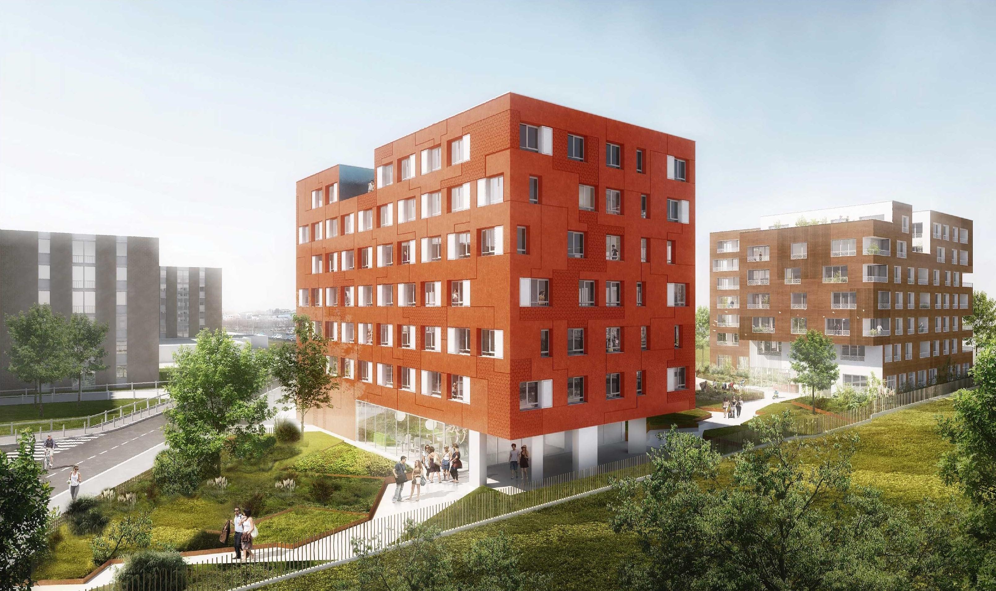 Architechniques christ le brier rue marcel grosm nil for Cctp architecte