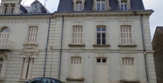 Semblançay : rénovation d'une maison du XIXe siècle