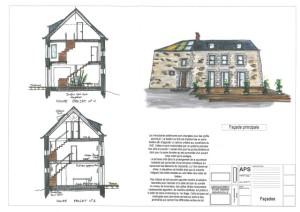 H13 plan facade PC13