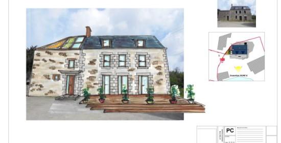 Rénovation maison ancienne normande